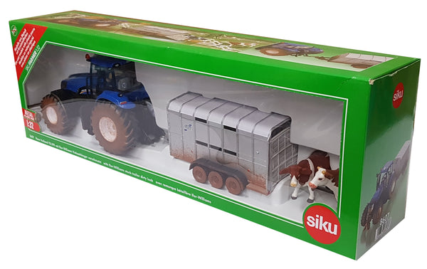SIKU    8607    NH Tractor & IFOR Williams trailer