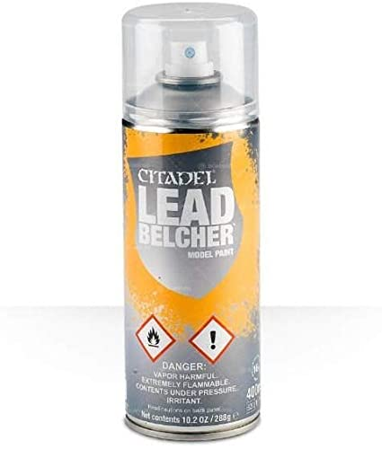 Citadel Model Paint Spray: Lead Belcher