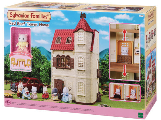 Sylvanian Families    5400    Red Roof Tower House