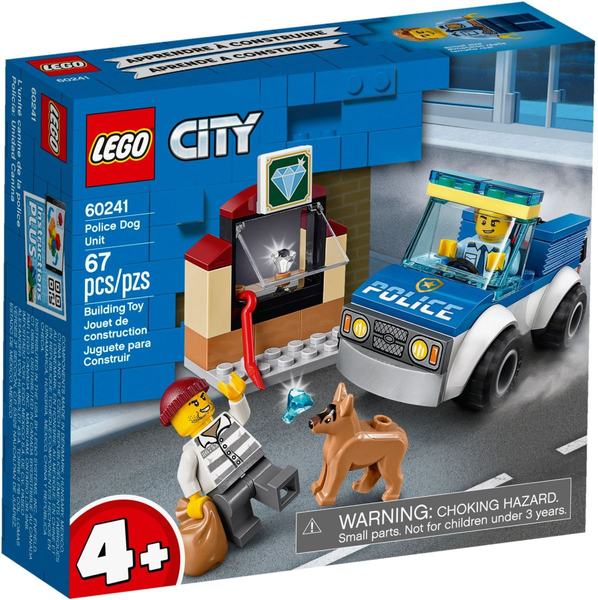 LEGO 60241    Police Dog Unit