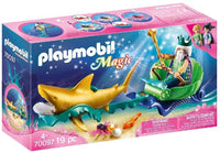 Playmobil 70097 Magic Sea King with Shark Carriage
