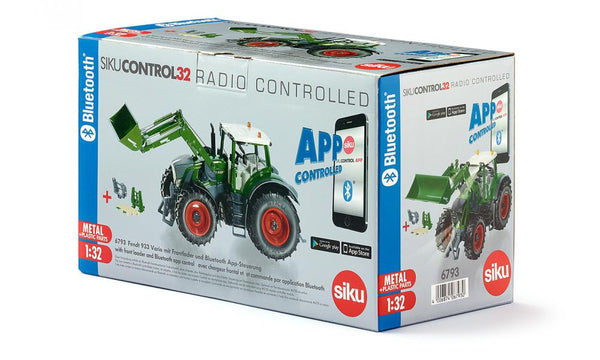 SIKU    6793    Fendt with loader Bluetooth Remote control