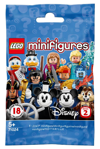 Lego 71024 Minifigure, Disney, Series 2