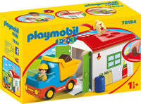 Playmobil    70184    1.2.3 Garage and Truck
