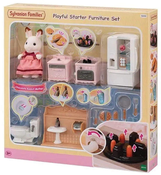 Sylvanian Families 5449 Playful Starter Furniture Set