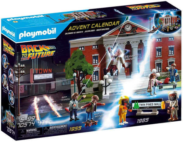 Playmobil 70574 Back to the Future Advent Calendar