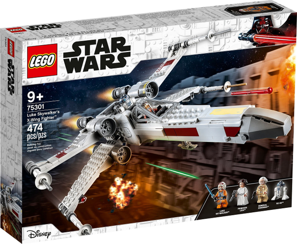 LEGO    75301 Luke Skywalker's X-Wing Fighter