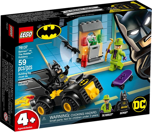 LEGO 76137    Batman vs. The Riddler Robbery