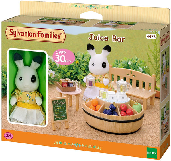 Sylvanian Families  4478 Juice Bar and Figure