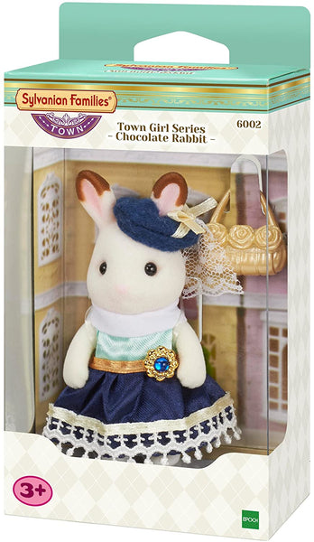 Sylvanian Families 6002 Town Girl Series - Chocolate Rabbit