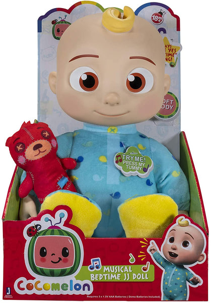 Cocomelon Musical Bedtime JJ Doll