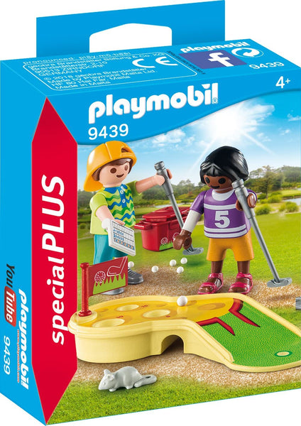 Playmobil    9439    Children Minigolfing