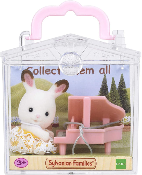 Sylvanian Families 5202 Rabbit with Piano Baby Carry Case