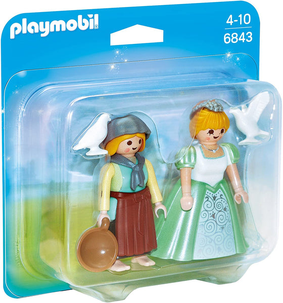 Playmobil    6843    Princess and Handmade Duo Pack