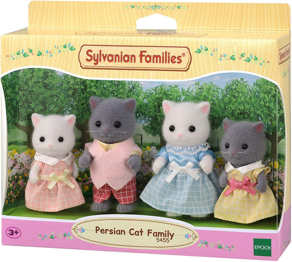 Sylvanian Families 5455  Persian Cat Family