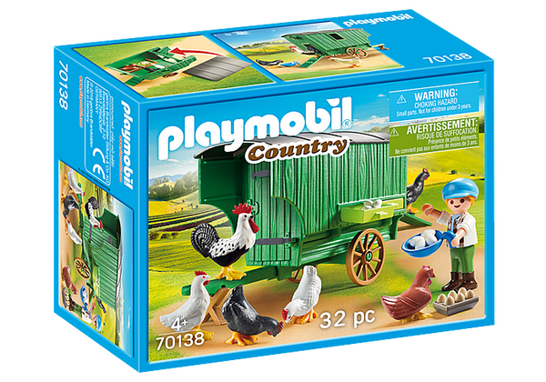 Playmobil 70138 Country Farm Chicken Coop