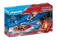 Playmobil 70335 City Action Promo Fire Rescue Mission