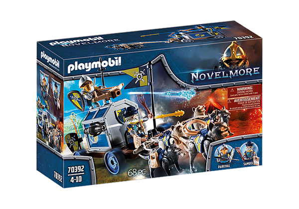 Playmobil    70392    Knights Novelmore Treasure Transport