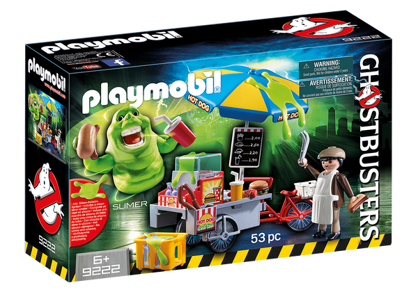 Playmobil 9222 Ghostbusters™ Slimer with Hot Dog Stand
