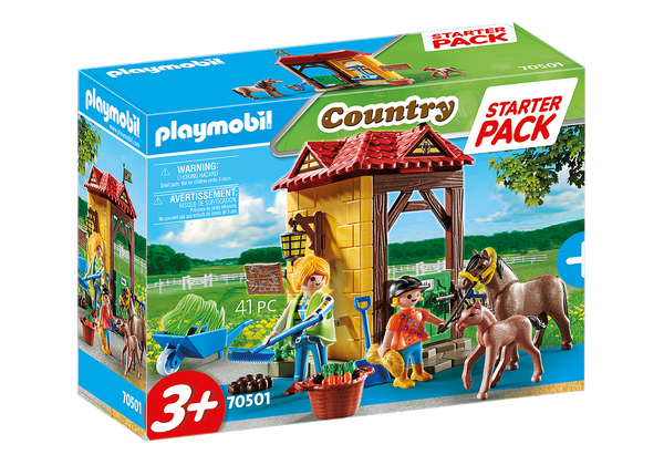 Playmobil 70501 Starter Pack Horse Farm