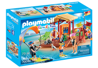 Playmobil 70090 Campsite Water Sports Lessons Hut