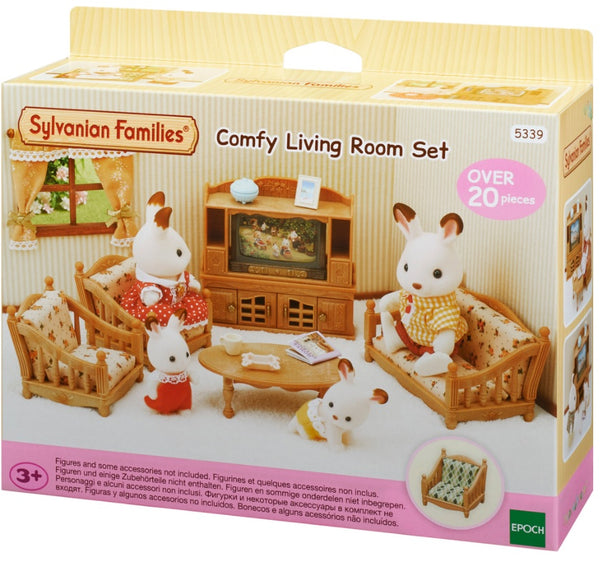 Sylvanian Families  5339 Comfy Living Room Set