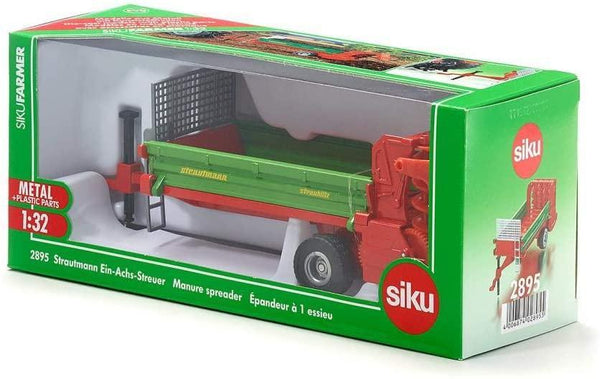SIKU    2895    Strautman Single Axle Trailer