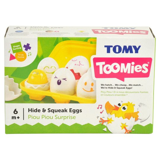 Hide and Squeak Eggs