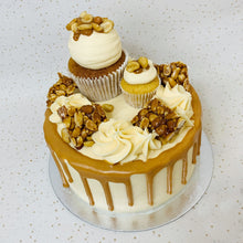 Load image into Gallery viewer, Peanut Caramel Overload Mini Cake