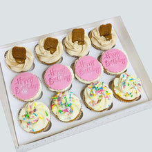 Load image into Gallery viewer, Box of 12 Topped Cupcakes