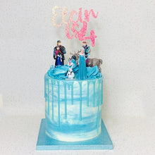 Load image into Gallery viewer, Frozen Themed Celebration Cake