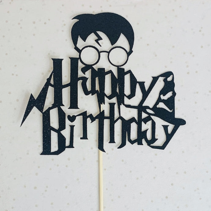 Harry Potter Birthday Topper Add On