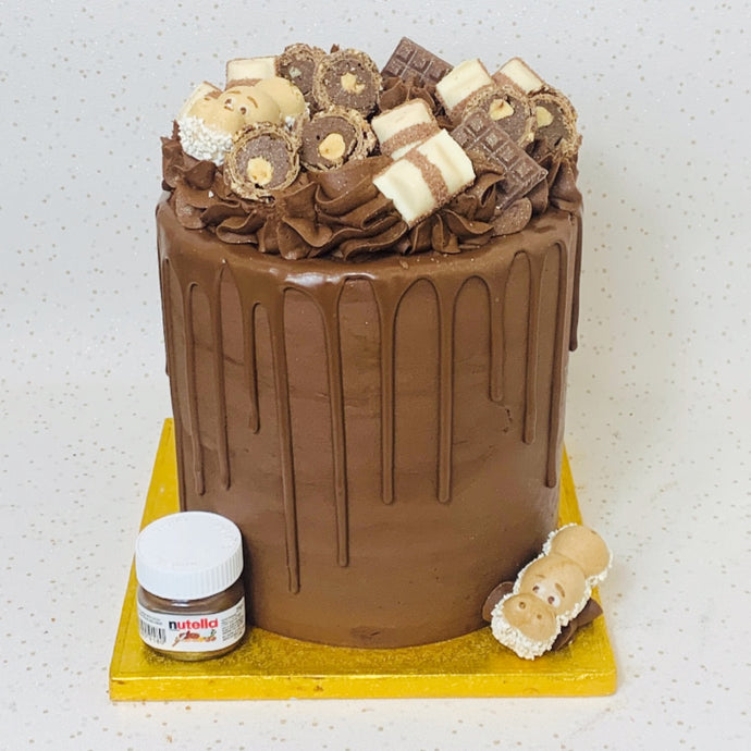 Kinder & Nutella Overload Cake (Various Options)