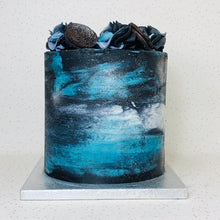 Load image into Gallery viewer, Galaxy Themed Cake