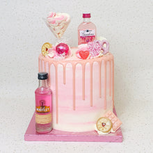 Load image into Gallery viewer, Pink Alcohol Cake (Various Options)
