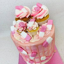 Load image into Gallery viewer, Sweetie Cupcake Cake