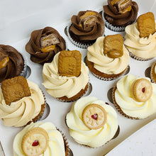 Load image into Gallery viewer, Box of 12 Cupcakes (Various Options)