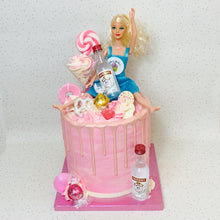 Load image into Gallery viewer, Drunk Barbie Cake