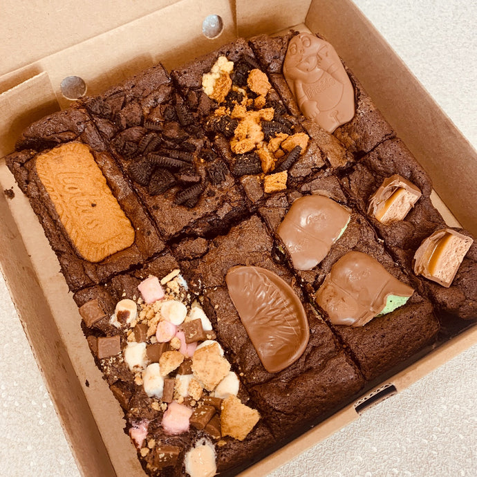 Postal Brownie Selection Box