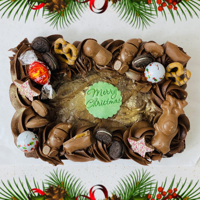 Luxury Christmas Brownie Tray (Collection)
