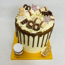 Load image into Gallery viewer, Kinder & Nutella Overload Cake (Various Options)