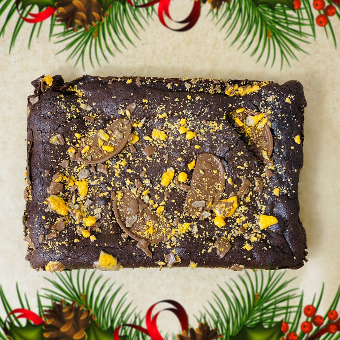 Standard Christmas Brownie Tray (Collection)
