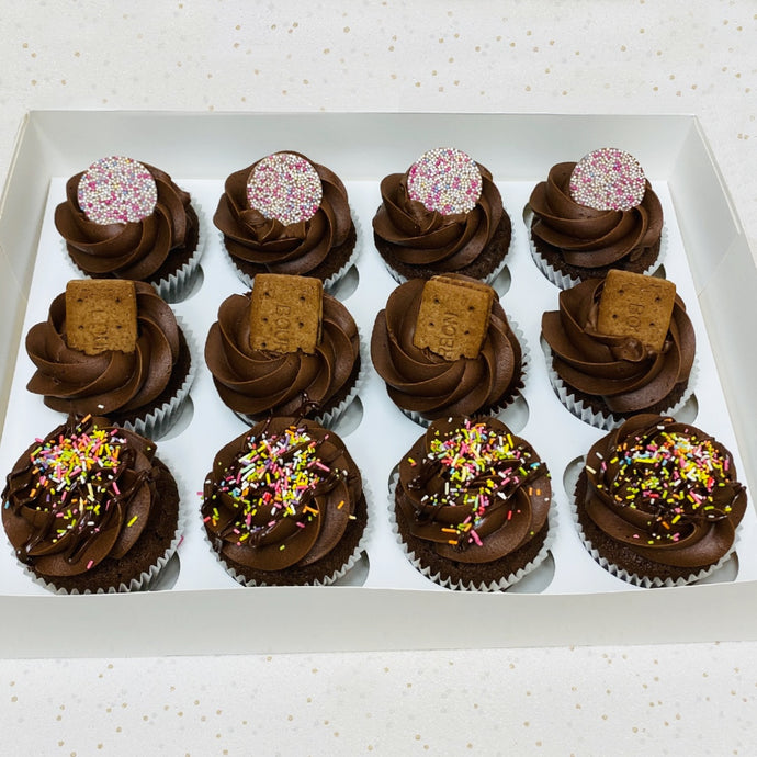Box of 12 Cupcakes (Various Options)