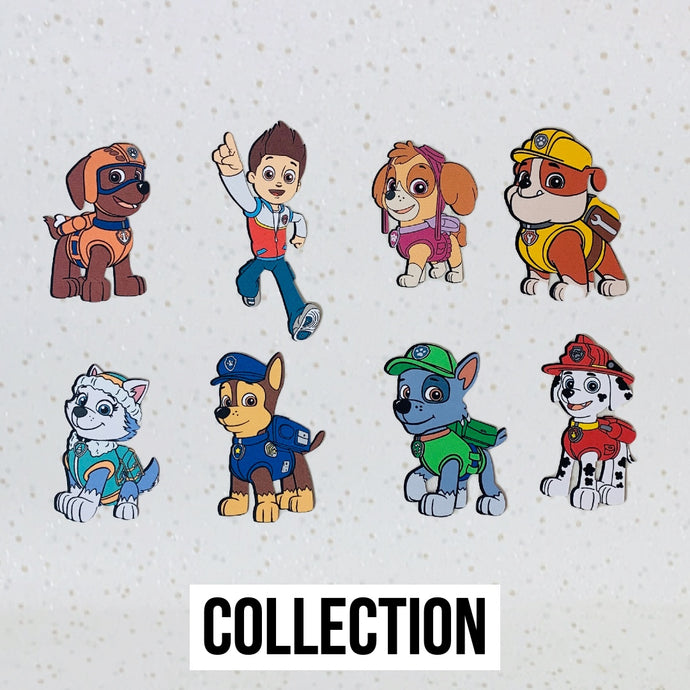 Paw Patrol Toppers (Collection)