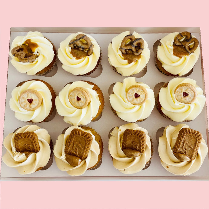 Box Of 12 Cupcakes (Local Delivery)