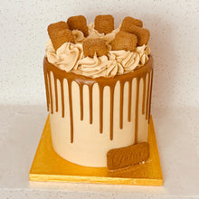 Load image into Gallery viewer, Biscoff Drip Cake