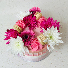 Load image into Gallery viewer, Mini Flower Cake (Various Colours)