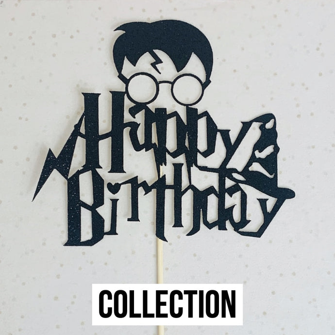 Harry Potter Birthday Topper (Collection)