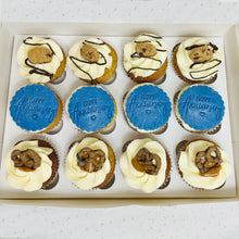 Load image into Gallery viewer, 12 Topped Cupcakes (Various Options)