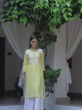Load and play video in Gallery viewer, Chasing Summer Kurta - Yellow